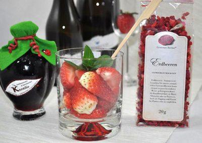 Erdbeer-Bowle (alkoholfrei)