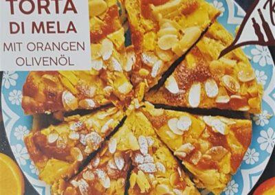 TORTA DI MEDA mit Orangen Olivenöl